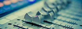 audio mixing banner